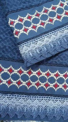 Bargello Patterns, Swedish Weaving, Needlepoint, Embroidery, Stitch, Towel, Hand Embroidery Stitches, Embroidery Stitches, Cross Stitch Embroidery
