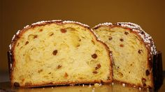 Southern Italians and Italian-Americans celebrate the holidays by eating fish and other seafood for the Feast of the Seven Fishes. However, panettone, a sweet bread loaf that contains raisins, citron, lemon-peel shavings and candied orange, is also popular. It is usually served with a hot drink, sweet wine or <i>crema di mascarpone</i> on Christmas and New Year's Day.