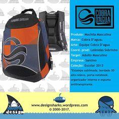 Para quem curte uma marca descolada.   #cobradagua #backpack #mochilas #design #designgrafico #productdesign #projectdesign #graphicdesign #web #webdesign #logo #logotipos #marcas #leonidas #leonidasdesigner #sharks #tubarao #tubaroes #spartan #sparta