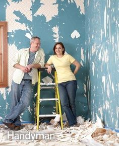 How To Remove Wallpaper Removable Wallpaper Removing Old Wallpaper Old Wallpaper