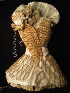 Cardboard Fashion Show - Dress & Shoes - Neocrisis.com