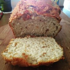 Onion Bread made with self-raising flour, soup powder and crispy onions.