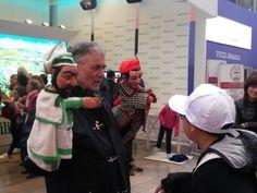 #Reggiodays in #piazzettaER a #Expo2015, spettacolo dei Burattini dei Sarzi