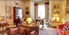 Glimpse inside Prince Charles' sitting room at Clarence House Clarence House, Lancaster, Royal Room, Prince Charles, Prince Andrew, Prince Philip, The Royal Collection, Royal Residence, Duchess Of Cornwall