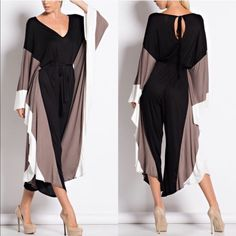 BRENDAN flowy & boho chic jumpsuit - BLACK 95% rayon, 5% spandex. PRICE FIRM, NO TRADE Bellanblue Pants Jumpsuits & Rompers
