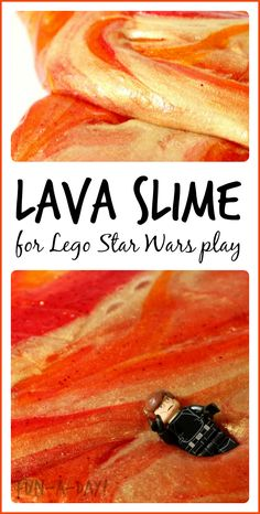 Such an awesome sensory and pretend play experience for Lego Star Wars lovers!!