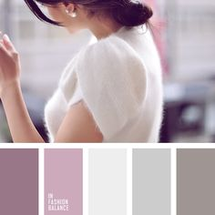 color solution for fashion, fashion, fashion palette, Happiness Boutique pearl earrings, lilac, Llunaa jumper, pastel shades of grey, pearl color, shades of pink and ash-pink, silver, the color of cocoa.