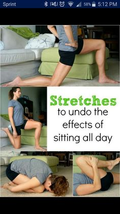 Stretching for people who sit all day