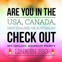Check out my online party #usa #nz #ca #aus #makeup  https://www.youniqueproducts.com/rachaelwhiteley/party/698587/view