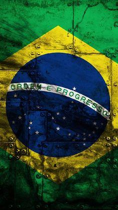 Brasil no Metal 2 Phone Wallpaper Quotes, Cellphone Wallpaper, Mobile Wallpaper, Wallpaper Backgrounds, Iphone Wallpaper, Go Brazil, Brazil Flag, Grenade Tattoo, Marvel Comics Superheroes