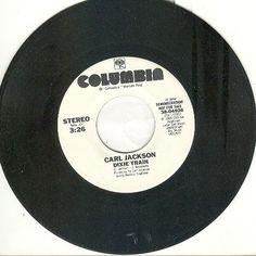 """Carl Jackson 45 rpm """"Dixie Train"""""""