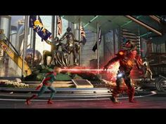 Injustice 2 Gods Among us Official Game play Reveal Review Preview DC