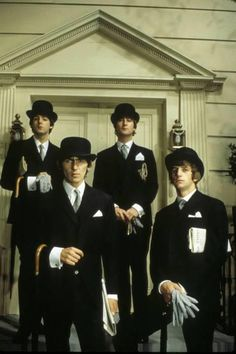 every last Beatle and i should have been best friends: george, paul, john, and ringo.