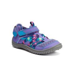 SO® Arabelle Girls' Outdoor Sandals, Girl's, Size: 13, Med Purple