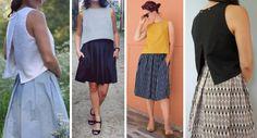 4 versions louis antoinette LAParisienne en ete patron couture