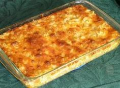 Yummiest Ever Baked Mac and Cheese