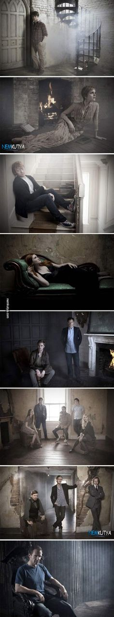 A Harry Potter szereplői más megvilágításban
