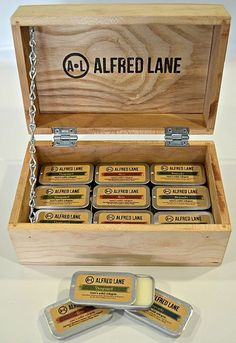 We have just received a great new product!  Alfred Lane's solid cologne is a unique concept, conveniently packaged to travel with or stash at your desk. The cologne is made in three scents: Vanguard, Brio & Bravado for $16.98.  Stop by to find your favorite scent, plus many more items, today & only @ FLIP!!