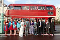 Red Wedding Bus- Transport.
