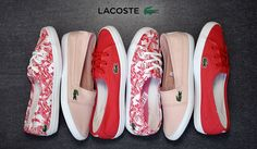 Lacoste Shoes, Timberland, Sumo, Vans, Sneakers, Red, Women, Fashion, Tennis