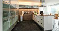 Cocina de Diseño The Singular Kitchen: Blanco Lacado
