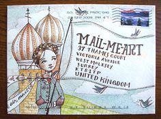 Mail Me Art 2 – September's winner Abigail Halpin