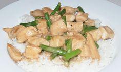 Coconut chicken with sticky rice / kokoskylling med ris