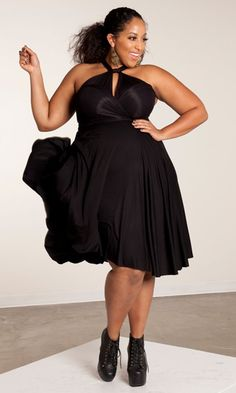 #PlusSize fashionable dress