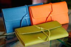 これからも作り続ける「紐財布」 - ル・ボナーの一日