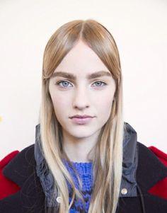 PFW Hair: Soft, Boyish Locks by Redken at Miu Miu F/W 2014
