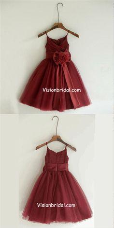 f22cfe901 18 Best Flower Girl Dresses burgundy images