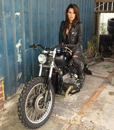 from @arjanvandenboom  #bmw #boxertwin #custom #bike #motorcycle #bratstyle #scrambler #caferacer #instamoto #stocksucks #builtnotbought #kustom #kulture #in_motors_we_trust #girl #beauty