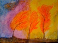 Painting with Children in Waldorf Schools Autumn Painting, Painting For Kids, Art For Kids, Children Painting, Painting Process, Painting Lessons, Natural Hair Brush, Waldorf Curriculum, Waldorf Crafts