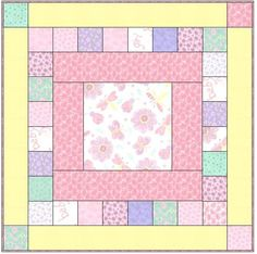 Easy baby quilt.