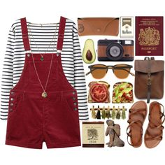 Ella by socialintrovert on Polyvore featuring polyvore fashion style Wood Wood Monki Gap Ray-Ban J.Crew Lomography