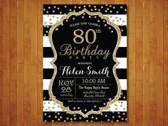 90.a invitación de cumpleaños para las mujeres. 90 cumpleaños