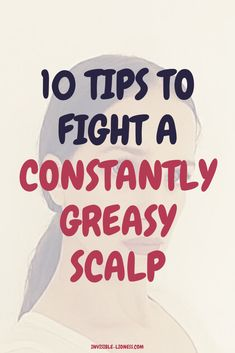 10 ways to stop your hair from getting greasy so quickly Trying to fight your oily scalp? These tips will help you with that, so that you can wash your hair less often. Try them if you want to have less greasy hair! Healthy Hair Tips, Healthy Hair Growth, Hair Growth Tips, Oily Scalp, Oily Hair, Diy Hair Care, Hair Care Tips, Hair Care Recipes, Greasy Hair Hairstyles