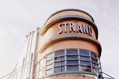 Art Deco Photography  Strand Cinema Print  by JudithKimberPhoto