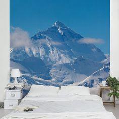 #Vliestapete - #Mount #Everest - Fototapete Quadrat #naturpur #nature #Tapete #Sonne #Landschaft #freedom #Natur #Abenteuer