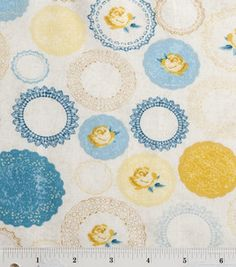 Colorbok Premium Quilt Fabric- French Country Doilies : quilting fabric & kits : fabric :  Shop | Joann.com