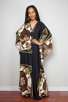 42553c9f2ba Boho Dress - Summer Kaftan Dress   Funky Elegant Collection No.1