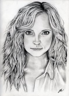 vampire diaries drawings drawing pencil caroline deviantart sketches stefan damon cool amazing forbes tvd sketch diary salvatore candice king realistic