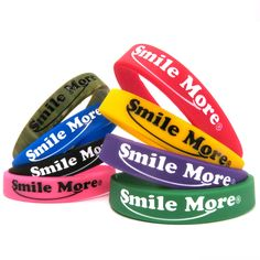 Smile More Silicone Bracelet – The Smile More Store   ~~ everyone watch Roman Atwood on YouTube he is amazing!!!!!!'