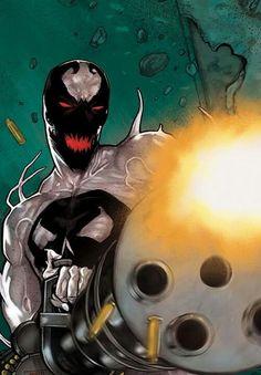 Punisher Anti-Venom by Mirco Pierfederici
