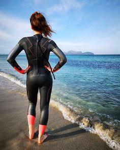 Triathlon, Catsuit Costume, Leather Catsuit, Scuba Girl, Womens Wetsuit, Latex Fashion, Second Skin, Bodysuit, Swimming