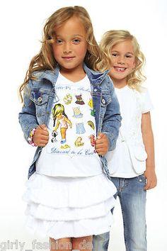 Mim-pi 607 MIM607 Shirt Fashion Doll weiss Gr. 104, 110, 116, 122, 128 (€ 15,00)