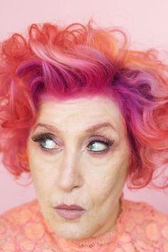 20 Ladies over fifty redefine hair colour norms. #0ver50 #haircolour #olderwomenshair