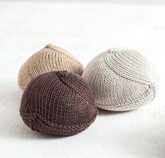 Knitted knockers:Help support breast cancer survivors while you perfect your basic stitches.