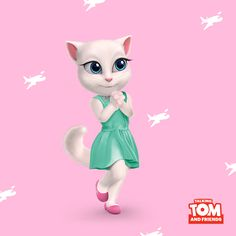 If you could travel anywhere in the world, where would you go first? xo, Talking Angela #TalkingAngela #MyTalkingAngela #LittleKitties #travel #TalkingTom #MyTalkingTom #app #best #game #wanderlust
