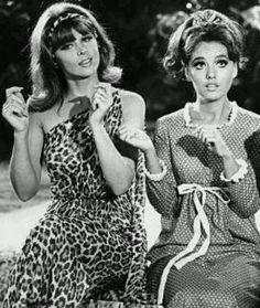 "Tina Louise and Dawn Wells, ""Gilligan's Island"""
